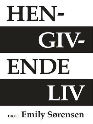 cover image of Hengivende liv