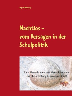 cover image of Machtlos