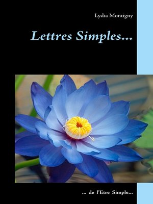 cover image of Lettres simples...