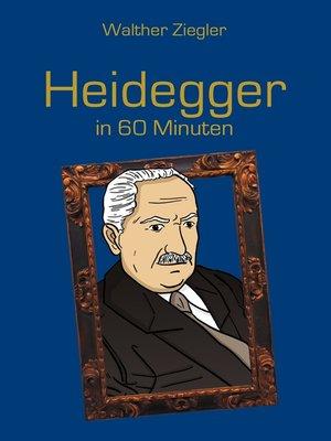 cover image of Heidegger in 60 Minuten
