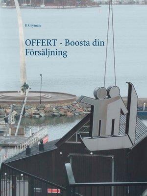 cover image of OFFERT--Boosta din Försäljning