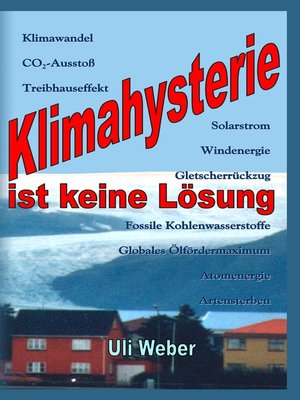 cover image of Klimahysterie ist keine Lösung