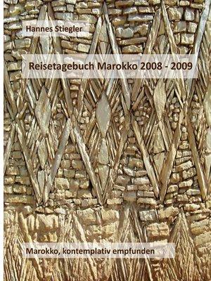 cover image of Reisetagebuch Marokko 2008--2009