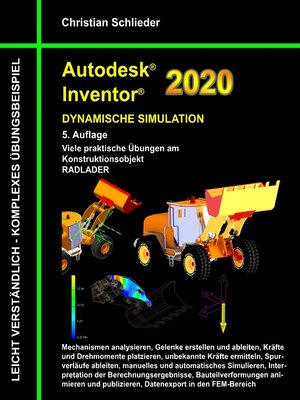 cover image of Autodesk Inventor 2020--Dynamische Simulation