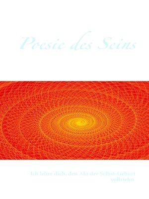 cover image of Poesie des Seins