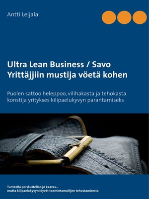 cover image of Ultra Lean Business / Savo