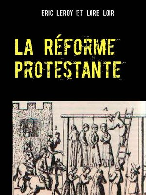 cover image of La Réforme Protestante