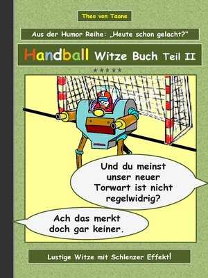 cover image of Handball Witze Buch--Teil II