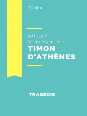 cover image of Timon d'Athènes