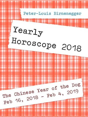 cover image of Yearly Horoscope 2018