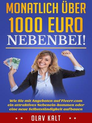 cover image of Monatlich über 1000 Euro nebenbei