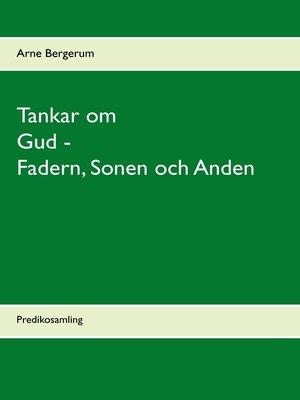 cover image of Tankar om Gud--Fadern, Sonen och Anden