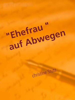 "cover image of ""Ehefrau"" auf Abwegen"