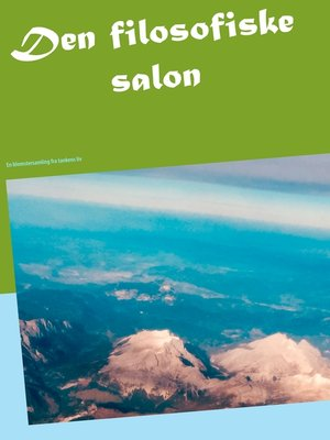 cover image of Den filosofiske salon