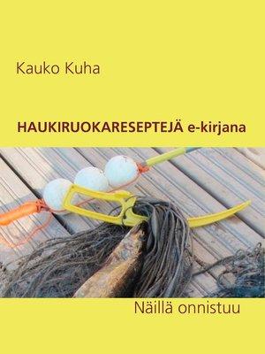 cover image of Haukiruokareseptejä e-kirjana