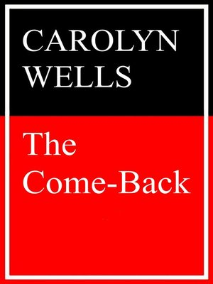 cover image of The Come Back