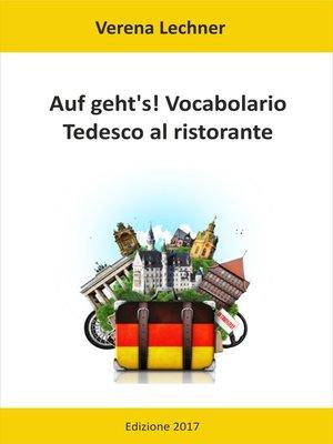 cover image of Auf geht's! Vocabolario