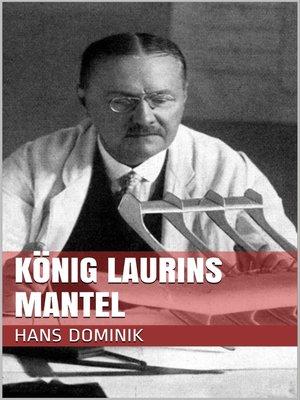 cover image of König Laurins Mantel