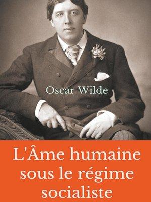cover image of L'Âme humaine sous le régime socialiste