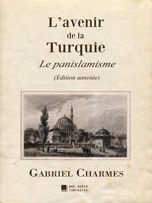 cover image of L'avenir de la Turquie