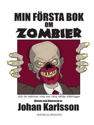cover image of Min första bok om zombier