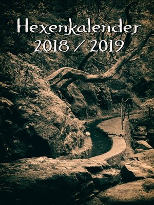 cover image of Hexenkalender 2018/2019