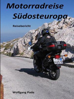 cover image of Motorradreise Südosteuropa