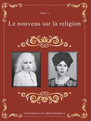 cover image of Le nouveau sur la religion