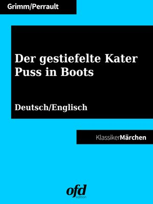 cover image of Der gestiefelte Kater--Puss in Boots