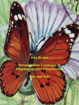 cover image of Personalbilanz Lesebogen 70 Flügelschlag eines Schmetterling