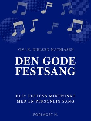 cover image of Den gode festsang