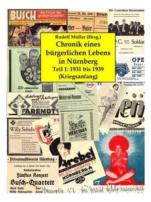 cover image of Chronik eines bürgerlichen Lebens in Nürnberg