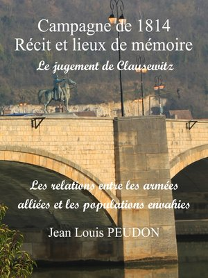 cover image of La campagne de 1814 récit et lieux de mémoire