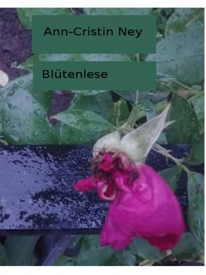 cover image of Blütenlese