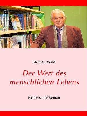 cover image of Der Wert des menschlichen Lebens