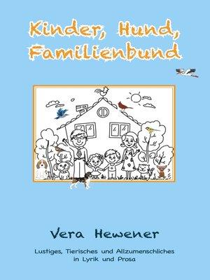 cover image of Kinder, Hund, Familienbund