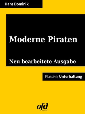 cover image of Moderne Piraten