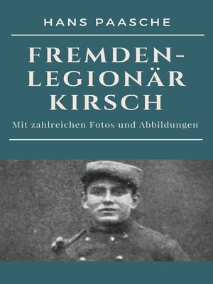 cover image of Fremdenlegionär Kirsch