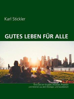 cover image of Gutes Leben für alle