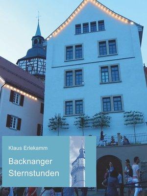 cover image of Backnanger Sternstunden