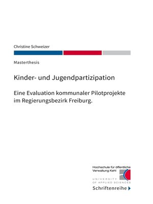 cover image of Kinder- und Jugendpartizipation