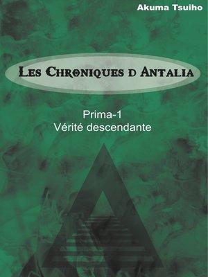 cover image of Vérité descendante