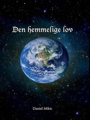 cover image of Den hemmelige lov