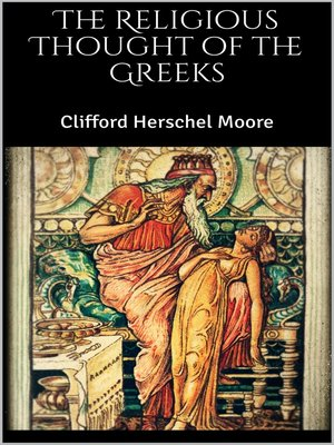 cover image of The Religious Thought of the Greeks