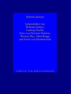 cover image of Lebensbilder von Dichtern II, 2