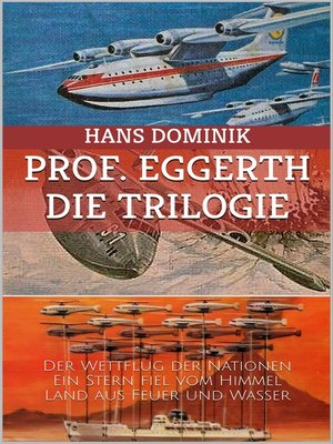 cover image of Professor Eggerth--Die Trilogie