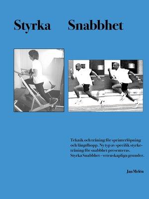 cover image of Styrka Snabbhet