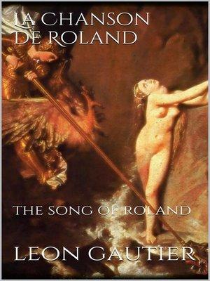 cover image of La Chanson de Roland