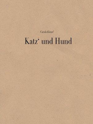 cover image of Katz und Hund