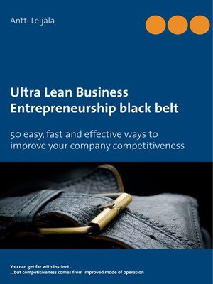 cover image of Ultra Lean Business